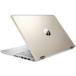 "HP Pavilion X360 14M-BA114DX (Gold/Silver) - Intel Quad-Core i5-8250U 1.60GHz - 8GB RAM - 128GB SSD - Intel UHD Graphics 620 - Win 10 Home - 14.0"" 1920x1080 Touch"